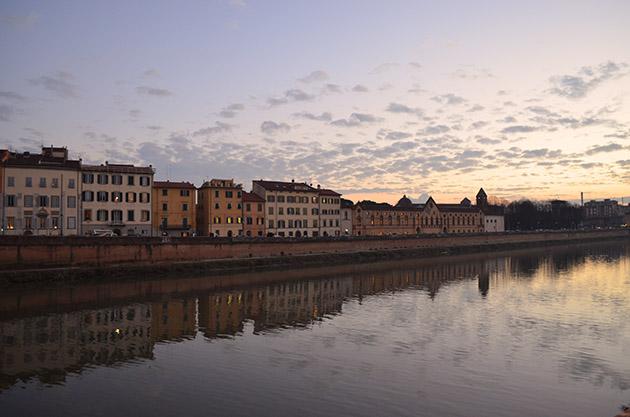 Fiume Arno (II). Pisa, 2015. Fuente: www.ritapouso.com
