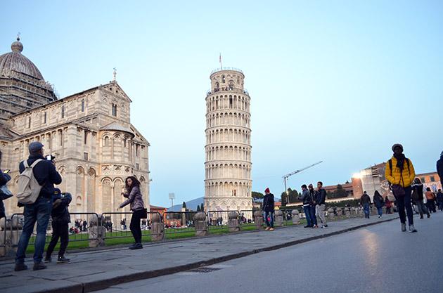 Torre dritta. Pisa, 2015. Fuente: www.ritapouso.com