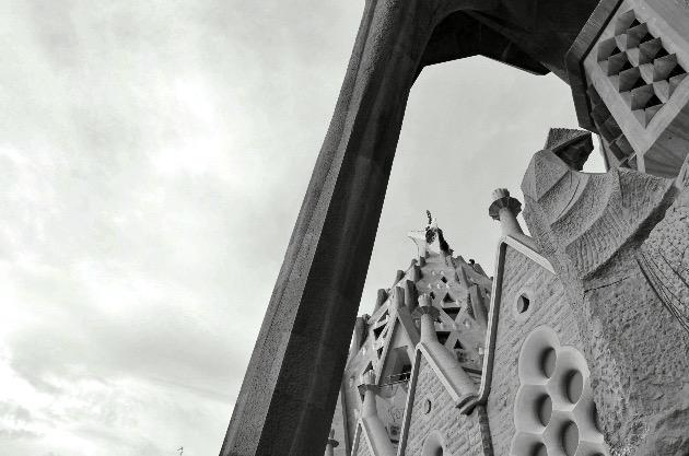 Sagrada Familia. Barcelona, 2017. Fuente: www.ritapouso.com