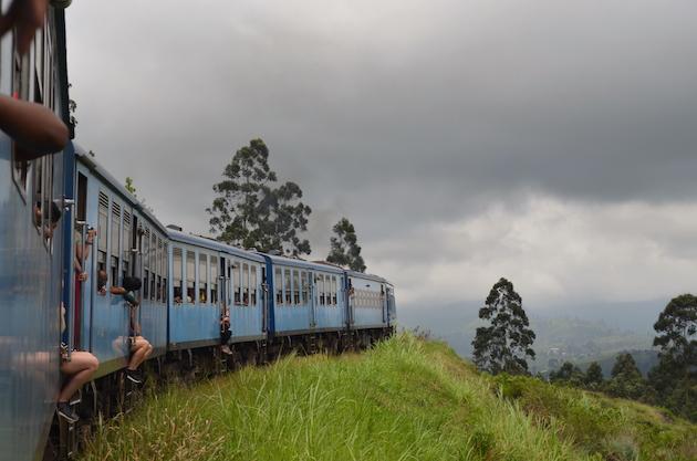 Vistas del tren. Ella, 2017. Fuente: www.ritapouso.com